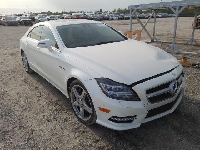 Salvage cars for sale from Copart West Palm Beach, FL: 2014 Mercedes-Benz CLS 550
