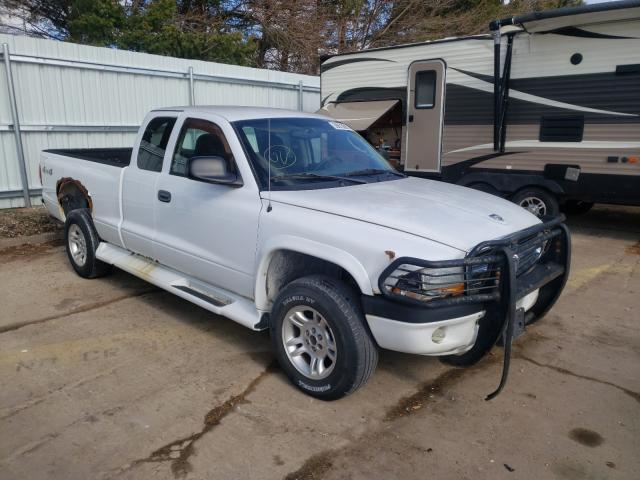 Salvage cars for sale from Copart Eldridge, IA: 2004 Dodge Dakota