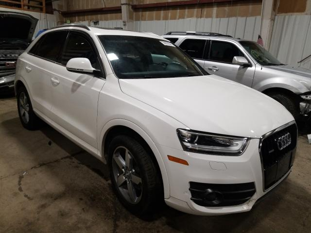 Salvage cars for sale from Copart Anchorage, AK: 2015 Audi Q3 2.0T PR
