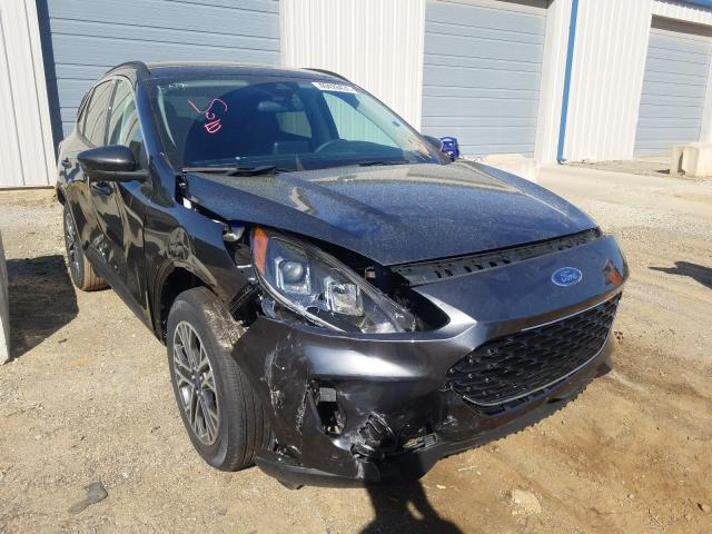 Salvage cars for sale from Copart Mocksville, NC: 2020 Ford Escape SEL
