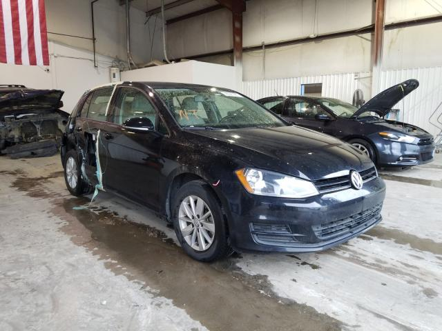 Salvage cars for sale from Copart Tulsa, OK: 2015 Volkswagen Golf