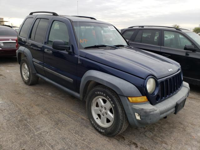 Jeep salvage cars for sale: 2006 Jeep Liberty SP