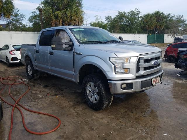 Salvage cars for sale from Copart West Palm Beach, FL: 2016 Ford F150 Super