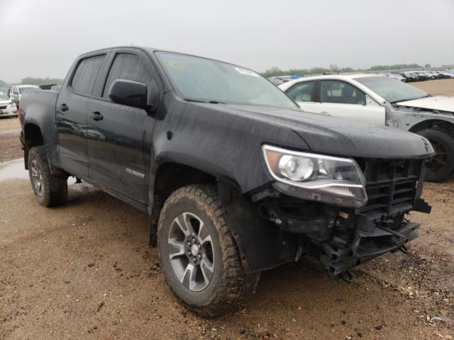 Salvage cars for sale from Copart Temple, TX: 2018 Chevrolet Colorado Z