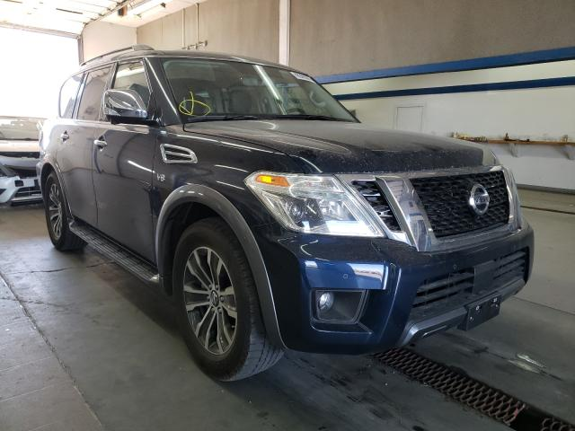 Salvage cars for sale from Copart Pasco, WA: 2020 Nissan Armada SV