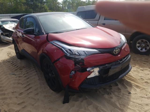 Salvage cars for sale from Copart Gaston, SC: 2021 Toyota C-HR XLE