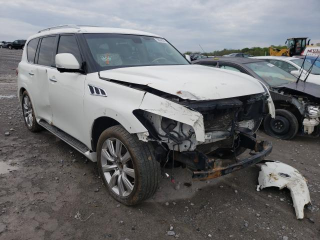 Infiniti salvage cars for sale: 2011 Infiniti QX56