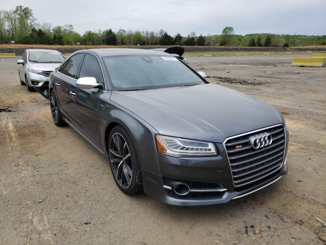 Audi S8 salvage cars for sale: 2017 Audi S8
