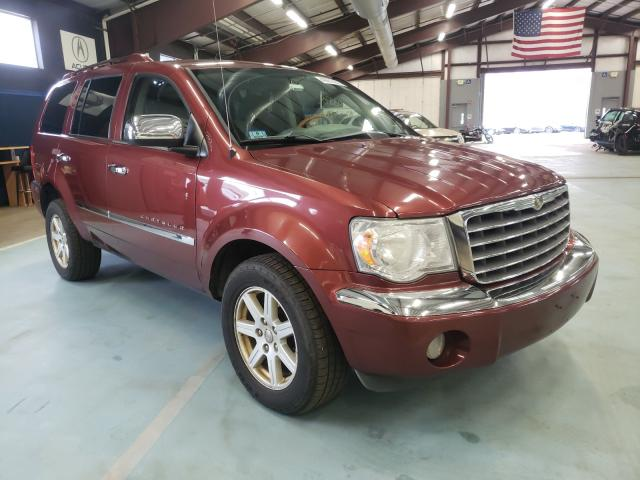 Salvage cars for sale at East Granby, CT auction: 2007 Chrysler Aspen Limited