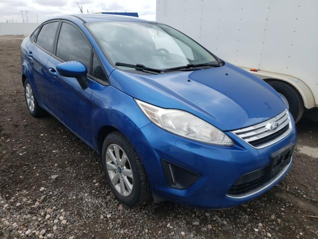 Salvage cars for sale from Copart Farr West, UT: 2011 Ford Fiesta SE