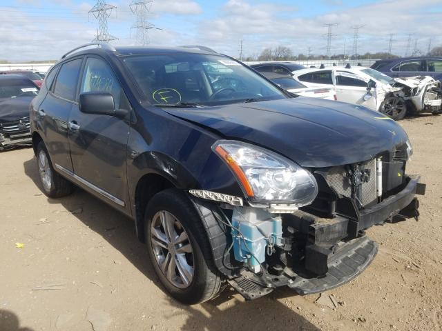 Salvage cars for sale from Copart Elgin, IL: 2015 Nissan Rogue Sele