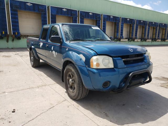 Salvage cars for sale from Copart Columbus, OH: 2004 Nissan Frontier C