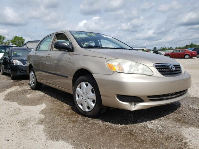 Salvage cars for sale at Harleyville, SC auction: 2007 Toyota Corolla CE