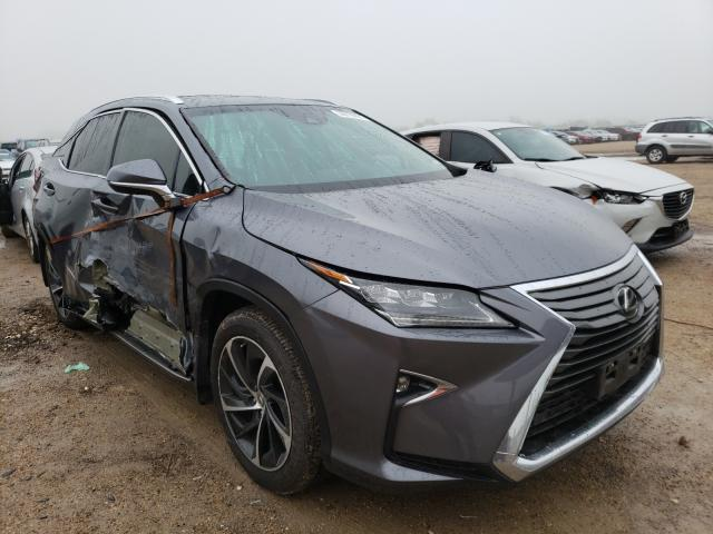 Salvage cars for sale from Copart Temple, TX: 2016 Lexus RX 350 Base