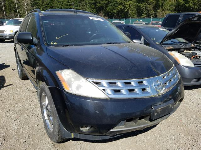 Salvage cars for sale from Copart Graham, WA: 2004 Nissan Murano SL