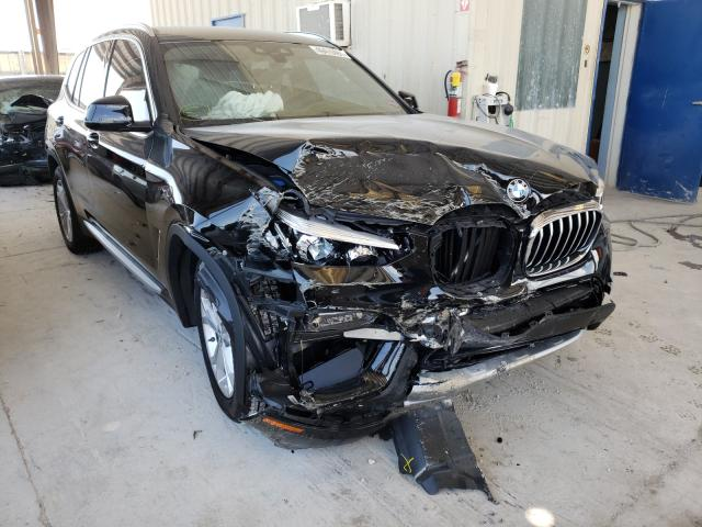 Salvage cars for sale from Copart Homestead, FL: 2021 BMW X3 SDRIVE3