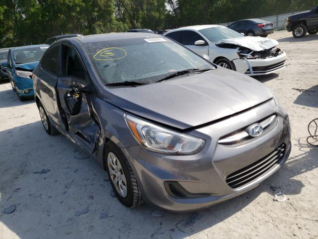 Salvage cars for sale from Copart Ocala, FL: 2015 Hyundai Accent GLS