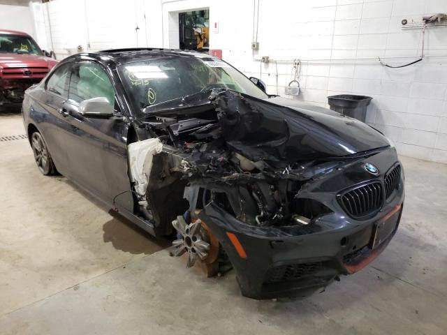 Salvage cars for sale from Copart Blaine, MN: 2015 BMW M235I