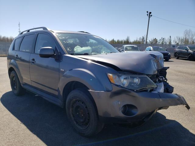 Salvage cars for sale from Copart Atlantic Canada Auction, NB: 2009 Mitsubishi Outlander