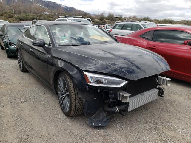 Salvage cars for sale from Copart Reno, NV: 2018 Audi A5 Premium