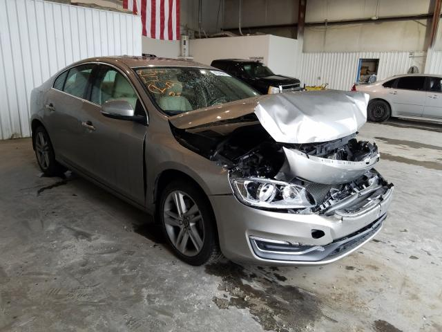 Salvage cars for sale from Copart Tulsa, OK: 2015 Volvo S60 Premium