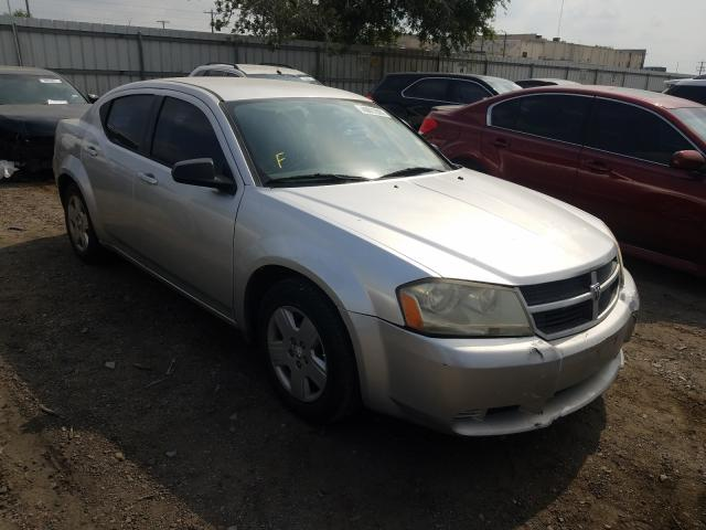 Salvage cars for sale from Copart Mercedes, TX: 2008 Dodge Avenger SE