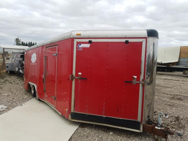 Salvage cars for sale from Copart Cudahy, WI: 2002 Pace American Trailer