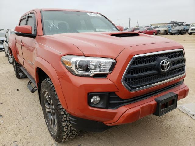 Salvage cars for sale from Copart San Antonio, TX: 2017 Toyota Tacoma DOU