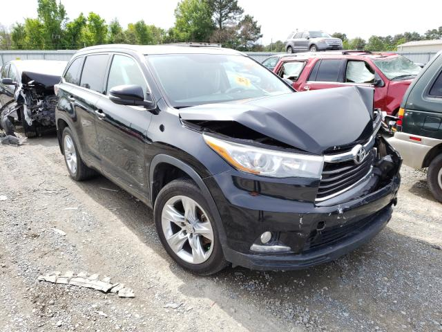Salvage cars for sale from Copart Shreveport, LA: 2015 Toyota Highlander