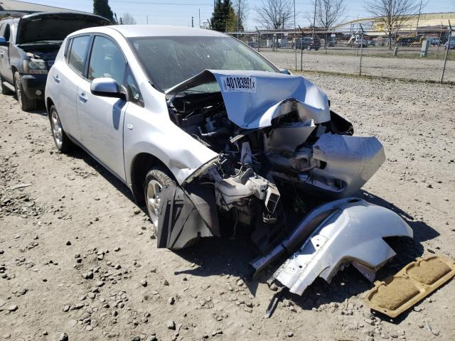 Salvage cars for sale from Copart Eugene, OR: 2012 Nissan Leaf SV