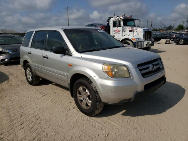 Salvage cars for sale from Copart West Palm Beach, FL: 2006 Honda Pilot LX