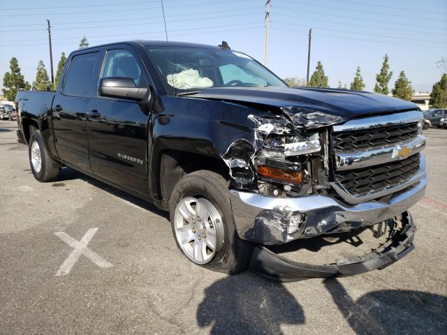 Salvage cars for sale from Copart Rancho Cucamonga, CA: 2018 Chevrolet Silverado
