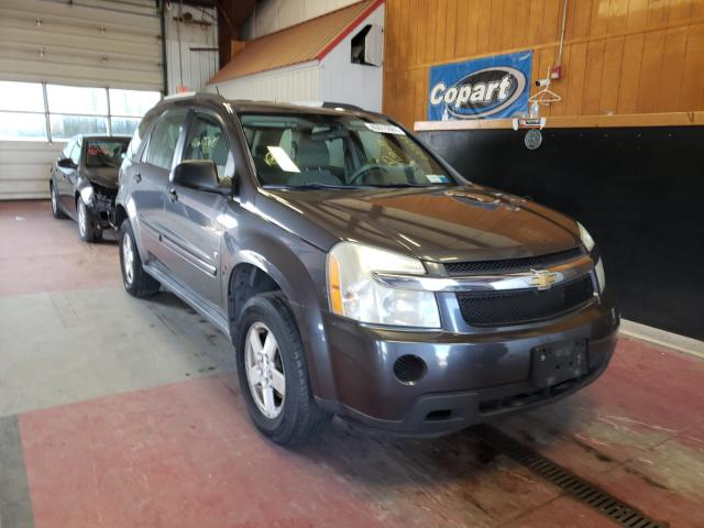 Salvage cars for sale from Copart Angola, NY: 2007 Chevrolet Equinox LS