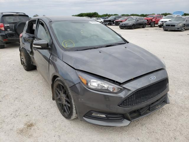 Salvage cars for sale from Copart San Antonio, TX: 2018 Ford Focus ST