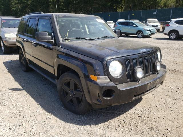 Salvage cars for sale from Copart Graham, WA: 2009 Jeep Patriot SP