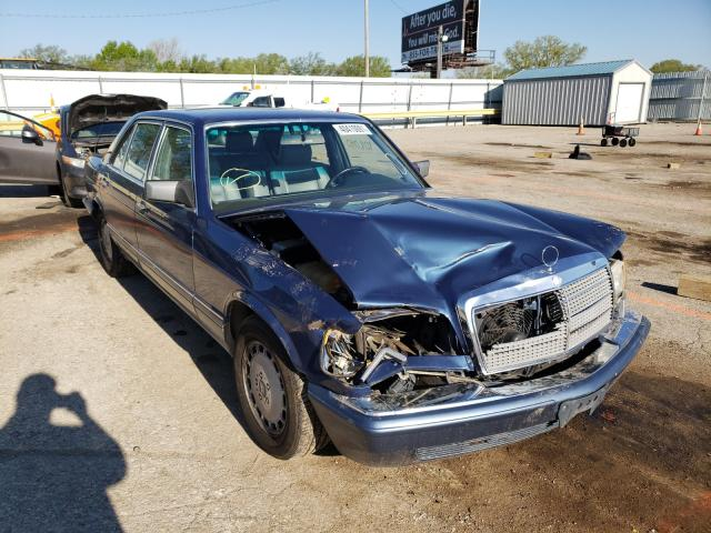 Mercedes-Benz 420 SEL salvage cars for sale: 1991 Mercedes-Benz 420 SEL