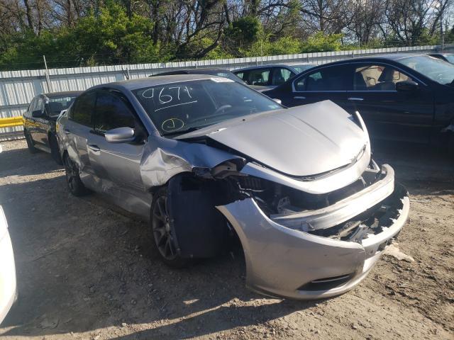 Salvage cars for sale from Copart Glassboro, NJ: 2015 Dodge Dart SE