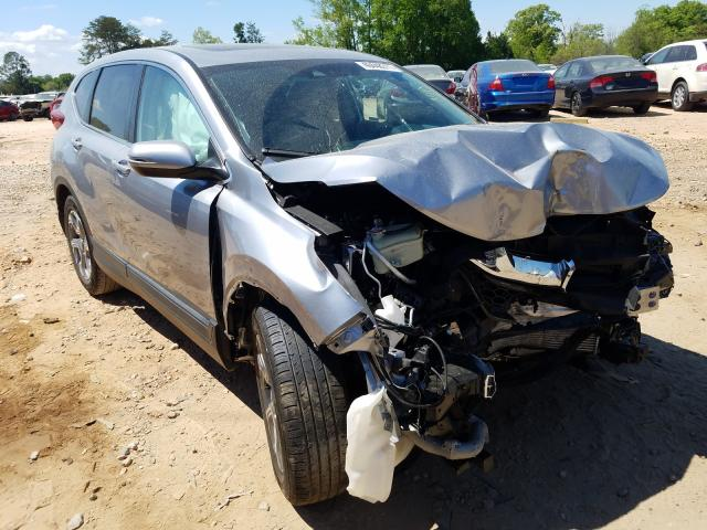 Salvage cars for sale from Copart China Grove, NC: 2019 Honda CR-V EXL