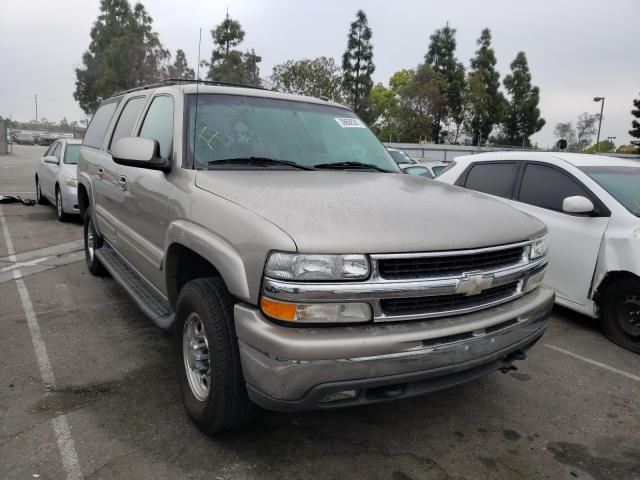 Salvage cars for sale from Copart Rancho Cucamonga, CA: 2003 Chevrolet Suburban K
