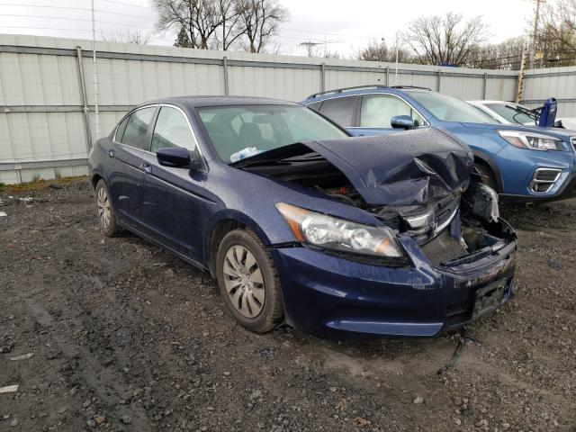 Salvage cars for sale from Copart Albany, NY: 2012 Honda Accord LX