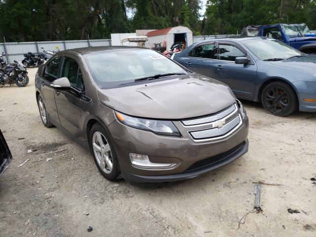 Salvage cars for sale from Copart Ocala, FL: 2014 Chevrolet Volt