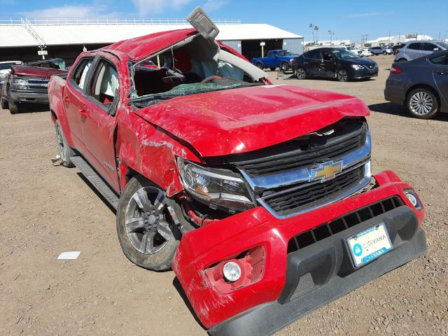 Chevrolet salvage cars for sale: 2016 Chevrolet Colorado L