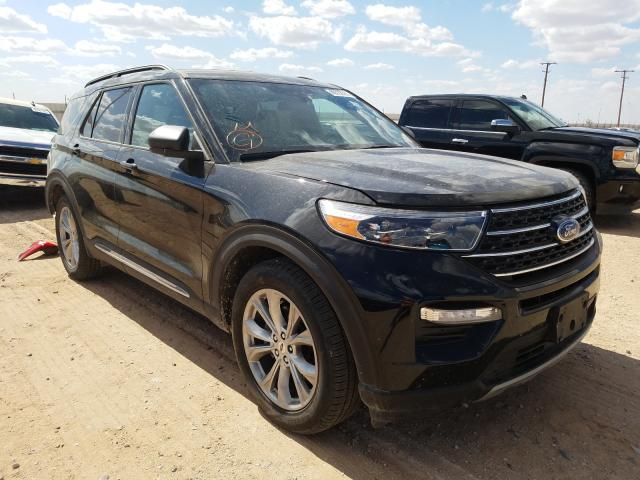 Salvage cars for sale from Copart Andrews, TX: 2020 Ford Explorer X