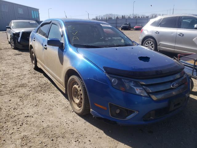Salvage cars for sale from Copart Nisku, AB: 2012 Ford Fusion Sport