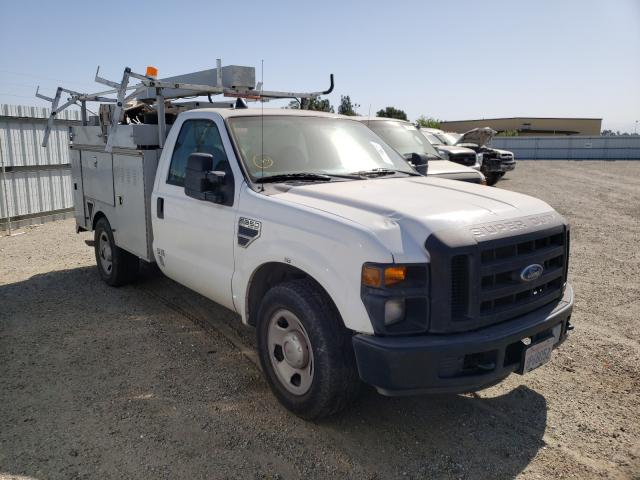 Salvage cars for sale from Copart Bakersfield, CA: 2008 Ford F350 SRW S