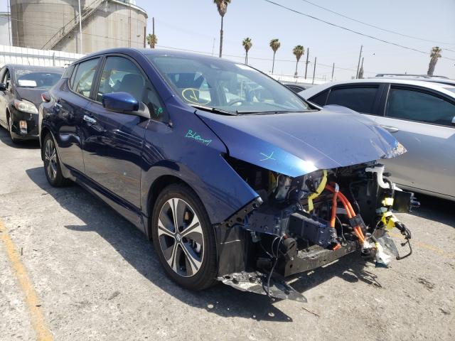 Nissan salvage cars for sale: 2020 Nissan Leaf SV