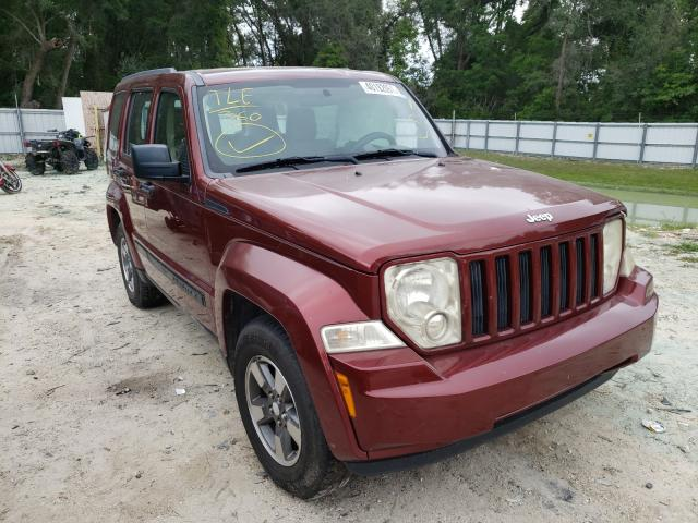 Salvage cars for sale from Copart Ocala, FL: 2008 Jeep Liberty