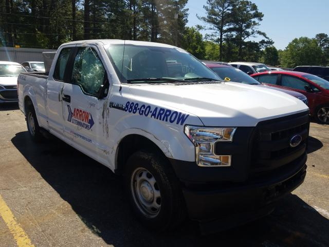 Salvage cars for sale from Copart Eight Mile, AL: 2017 Ford F150 Super