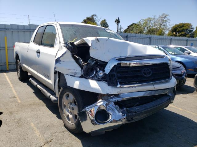 Salvage cars for sale from Copart Vallejo, CA: 2007 Toyota Tundra DOU
