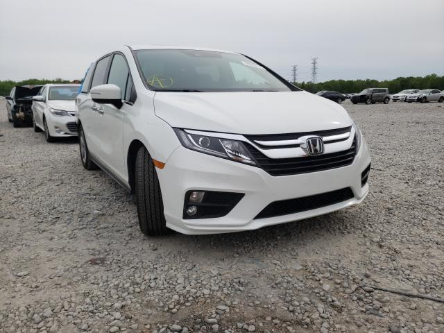 Salvage cars for sale from Copart Memphis, TN: 2020 Honda Odyssey EX